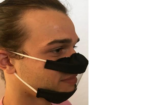 Nouveau : le masque SOURIRE noir